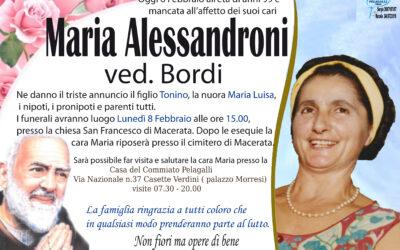 Alessandroni Maria