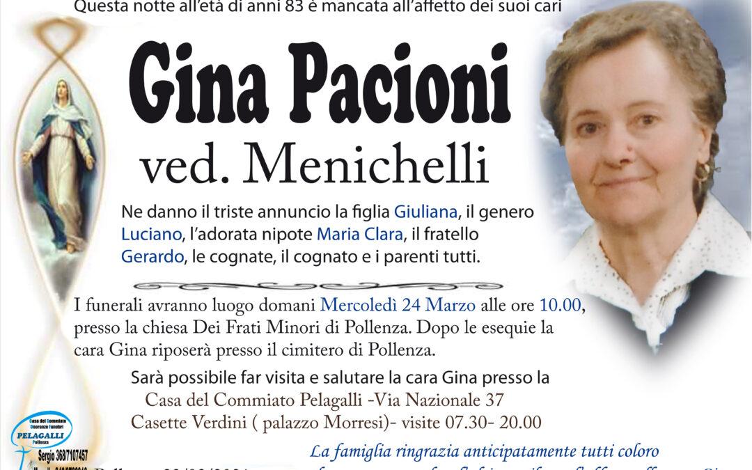Gina Pacioni